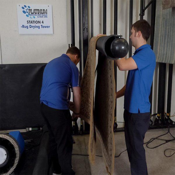 Rug Drying Rack